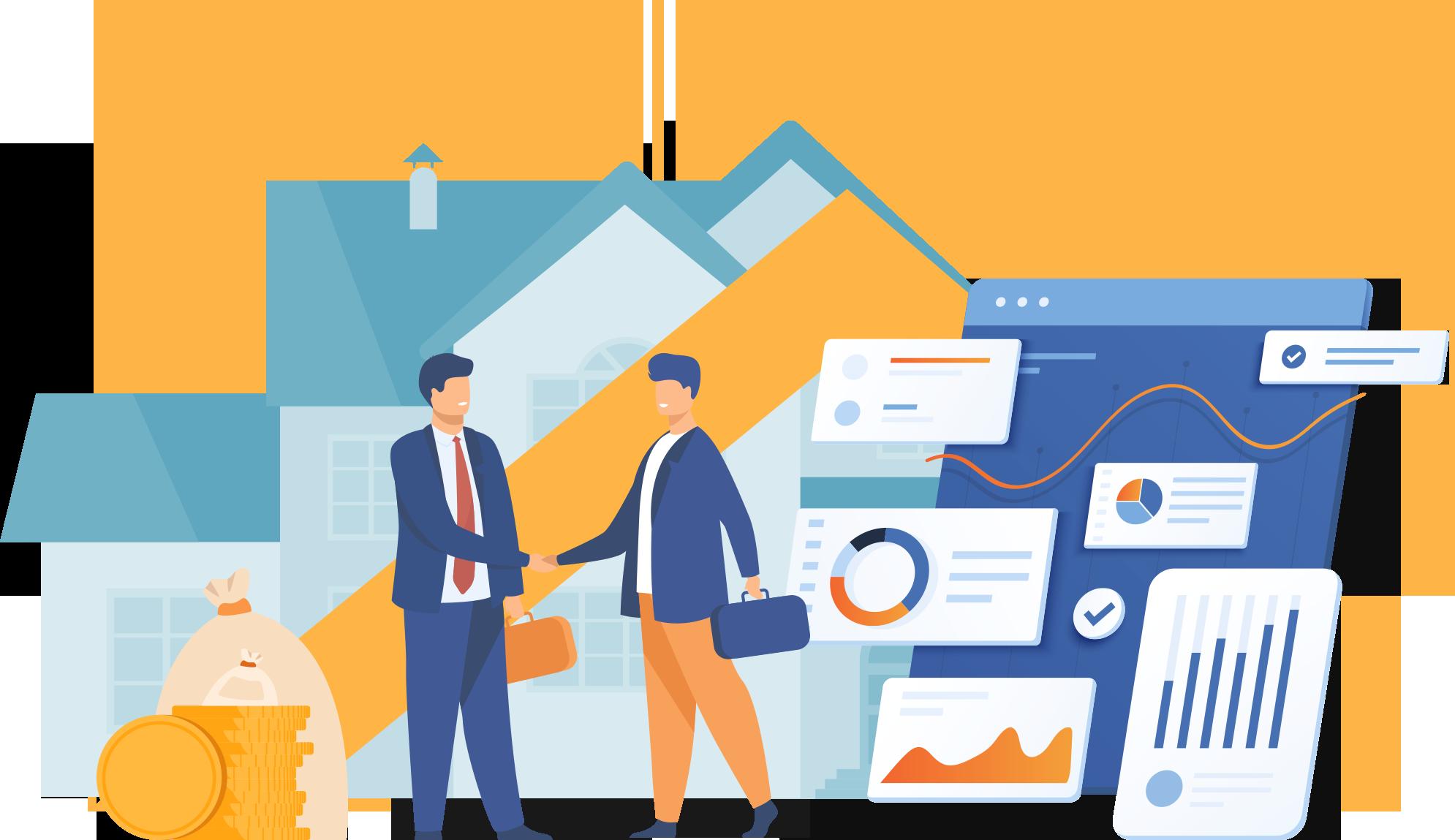 住宅ローン借り換え業務代行サービステクノロジーの力で営業利益を最大化